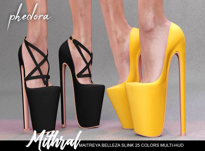 Phedora ~  Mithral heels { ADD ME <3 }