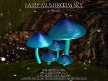 .: Runic :. Fairy Mushroom Sky