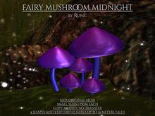 .: Runic :. Fairy Mushroom Midnight
