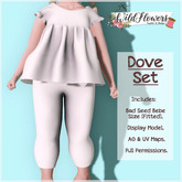 {WF} DEMO - Dove Set  - [BEBE ONLY]