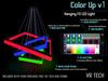 VR-TECH Hanging FX Squares LED Lights
