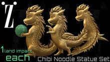 [inZoxi] - [1LI] Chibi Dragon Statues