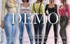 DEMO Martina FATPACK Jeans Female OVERALL with Top - MESH - Maitreya Lara, Belleza Freya - FashionNatic