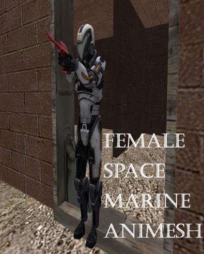 space marine female boxed