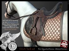 (*.*) ELLA tack set QuarterHorse