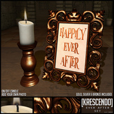 [Kres] Ever After Candles & Frames