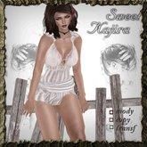 camisk white-sweet kajira-