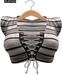 BUENO-Ana Top-Gray stripe - Maitreya, Slink HG, Belleza Freya