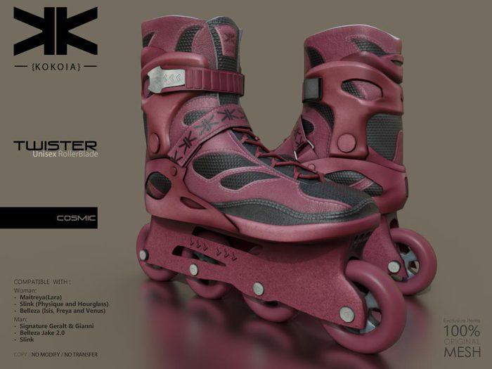 Twister :: Unisex RollerBlade :: Cosmic :: {kokoia}