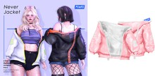 MIWAS / Never jacket #Pink