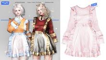 MIWAS / Mia frilled dress #PinkSlash