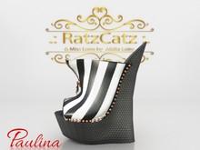 .: Miss Loire :. Wedges *Paulina* -stripes-