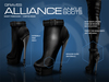 GRAVES Alliance Ankle Boots