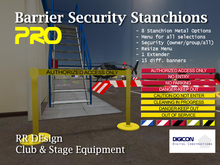 Barrier Security Stanchions