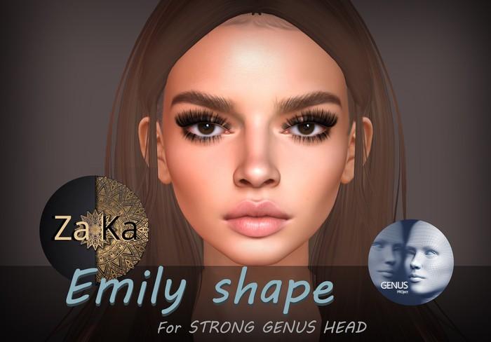 *ZaKa* Emily Shape for Strong Genus