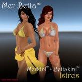 Mer Betta™ Istros Merkini™ + Bettakini™ v3.1c bikini set