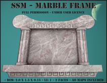 SSM - Marble Frame