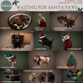 O.M.E.N - Waiting for Santa Paws - Black Lab BOX