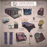 Petite Mort- Love Shack Floor Lamp (bagged)