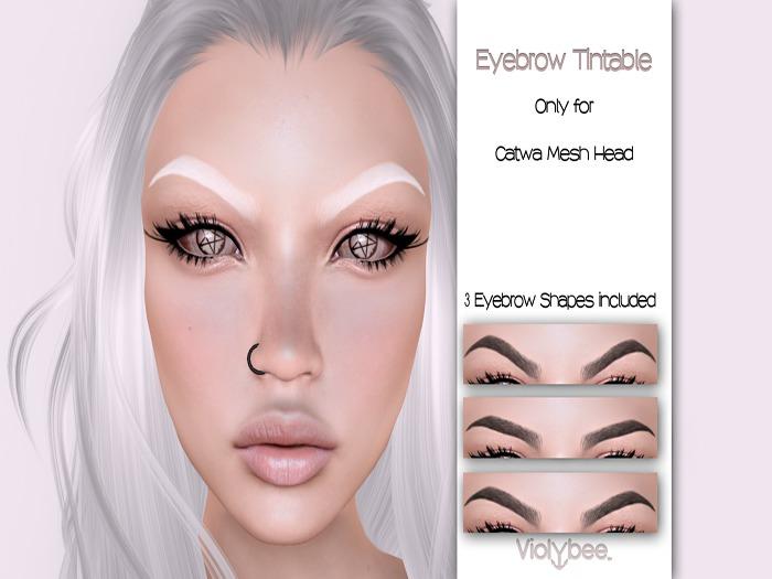 Violybee. Eyebrow Tintable (Catwa)