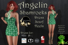 Continuum Angelin Shamrocks St Patrick outfit