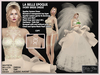 LA BELLE EPOQUE IVORY BRIDE DRESS