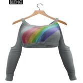 BUENO-Caro Sweater-Rainbow