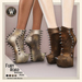 Wicca's Wardrobe - Fury Road Booties [Aged Edition] [BOXED]