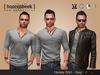 Henley Shirt - Grey - Signature Gianni & Geralt, Belleza, SLink & CA
