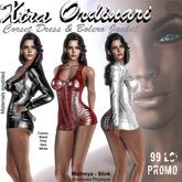 *XO* Corset Dress & Bolero Jacket