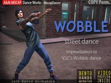 A&M: Wobble Baby - solo dance (BENTO hands) :: #TAGS - vic, rap, rapper, street, urban