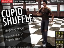 A&M: Cupid Shuffle - solo dance (BENTO hands) :: #TAGS - slide, hip-hop, rap, rapper, urban, street