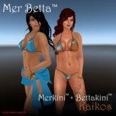 Mer Betta™ Kaikos Merkini™ + Bettakini™ v3.1c bikini set