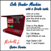 Michelle's Cola Vendor Machine - Gastro