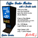 Michelle's Coffee Vendor Machine - Gastro