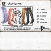 *ordinary design* Acinonyx