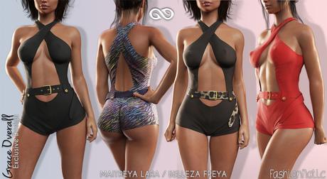 GRACE Female FATPACK OVERALL - MESH - Maitreya Lara, Belleza Freya
