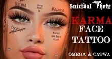 [Suicidal Thots] Karma Face Tattoo