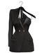 Rowne.Boeris Tux Dress - Onyx
