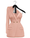 Rowne.Boeris Tux Dress - Pink