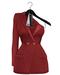 Boeris dress red