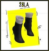 28LA.. Veda Boots BLACK [Add Me]