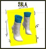 28LA.. Veda Boots  WHITE[Add Me]