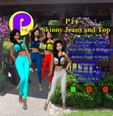 P14 - Skinny jeans and Top {Boxed}