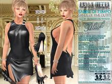 Bella Moda: Sabbie di Tempo Black Sands of Time Outfit