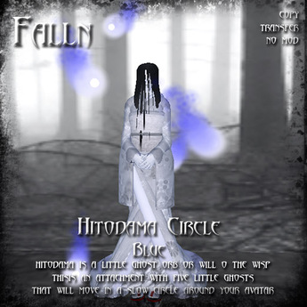 Falln Hitodama Circle Blue