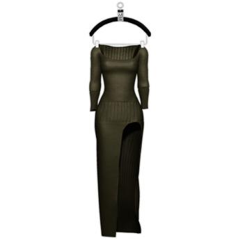 Noemi La Robe Dress — Hunter