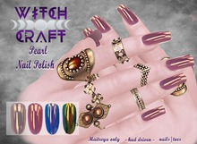 [WitchCraft]  Pearl Nail Polish