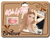 {Brilove} 6 Color Lip Pallet