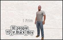 MESH PEOPLE -YO_V.Black_Boy
